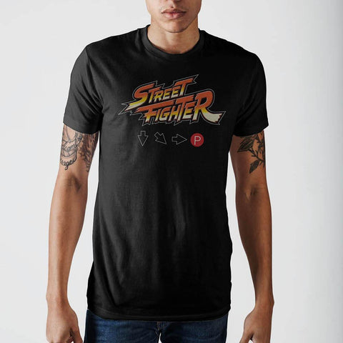 Street Fighter Logo Hadouken T-ShirtCapcom - MERCHMILLA, Official nerd Merch lives here