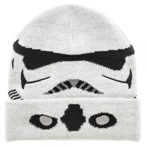 Star Wars Storm Trooper Cuff BeanieStar Wars - MERCHMILLA, Official nerd Merch lives here