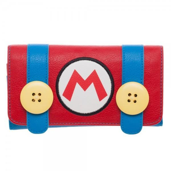 Nintendo Mario Juniors Flap WalletNick 90's - MERCHMILLA, Official nerd Merch lives here