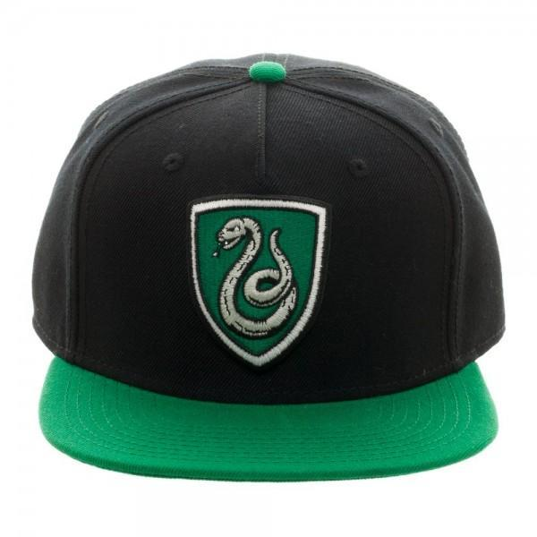 Harry Potter Slytherin Crest SnapbackWarner Bros - MERCHMILLA, Official nerd Merch lives here