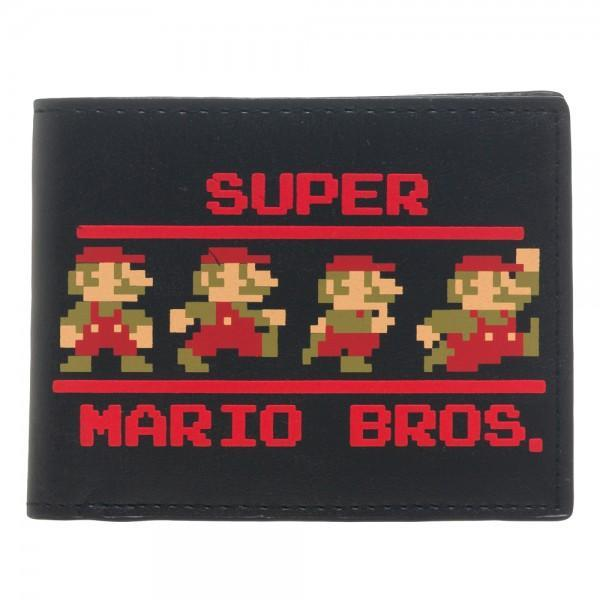 Nintendo Super Mario Bi-Fold WalletNick 90's - MERCHMILLA, Official nerd Merch lives here