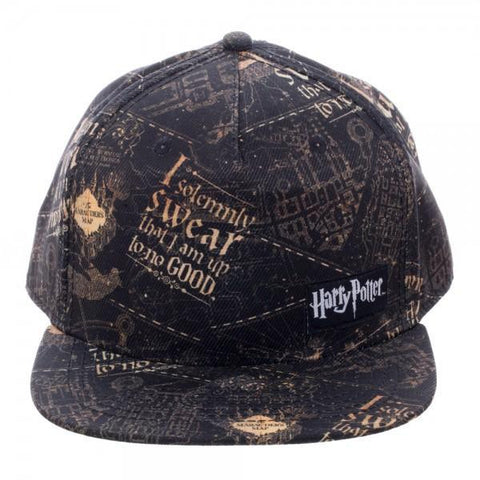 Harry Potter I Solemnly Swear SnapbackWarner Bros - MERCHMILLA, Official nerd Merch lives here