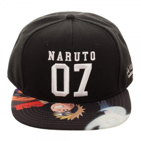 Naruto Sublimated Bill SnapbackNaruto - MERCHMILLA, Official nerd Merch lives here