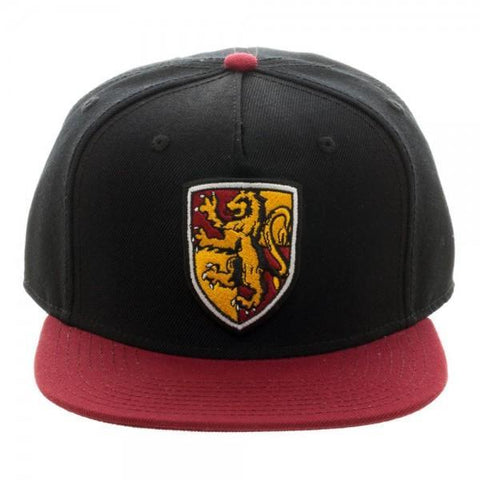 Harry Potter Gryffindor Crest SnapbackWarner Bros - MERCHMILLA, Official nerd Merch lives here