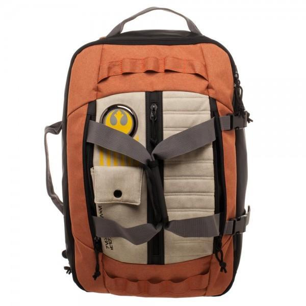 Resistance Pilot Inspired 3-in-1 Convertible BackpackStar Wars - MERCHMILLA, Official nerd Merch lives here