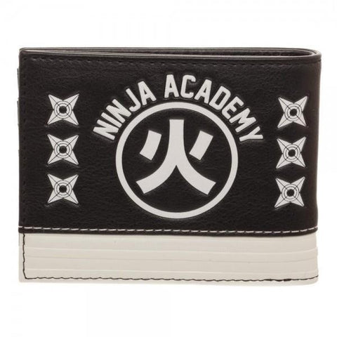 Naruto Black Bi-Fold WalletNaruto - MERCHMILLA, Official nerd Merch lives here