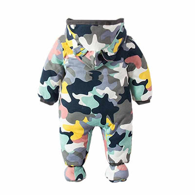 Baby Rompers Winter Thick Warm Baby Boys / Girls Clothing-baby and toddler outfits-Golonzo