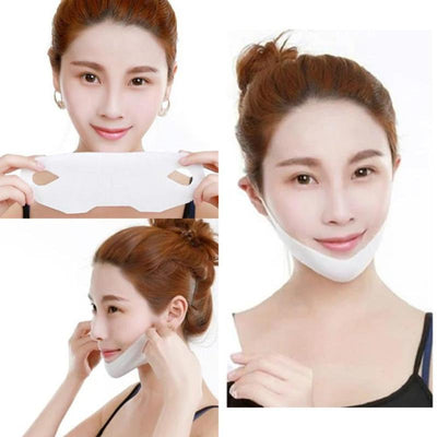 4D V-SHAPED SLIMMING MASK SET-Skin Care Masks & Peels-Golonzo