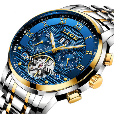Relogio Mens Watches - Automatic Mechanical Watch Men-Watch-Golonzo