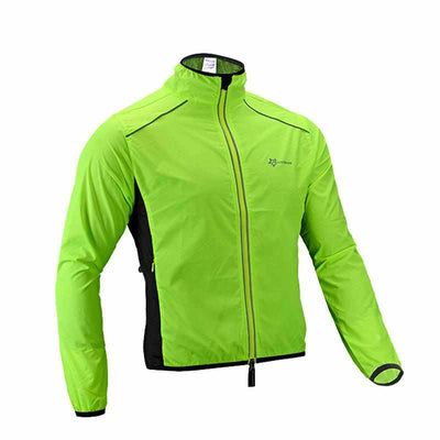 Reflective Breathable Cycling Long Sleeve Wind Coat Windproof Quick Dry Jacket-Coats and Jackets-Golonzo