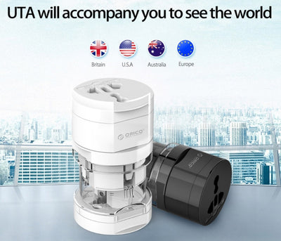 UTA Travel Electrical Universal Adapter Plug-Travel Converters & Adapters-Golonzo