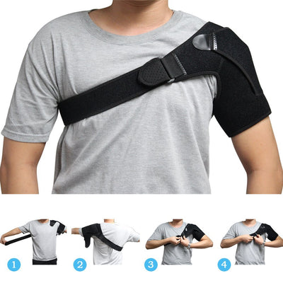 Miracle Joint Pain Relief Shoulder Brace - Adjustable Shoulder Support-Supports & Braces-Golonzo