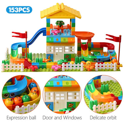 House with Slider Blocks Lego Set-Toys-Golonzo