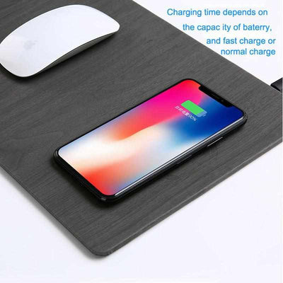 Mobile Phone QI Charger Mouse Pad for iPhone /Android-Mouse Pads-Golonzo