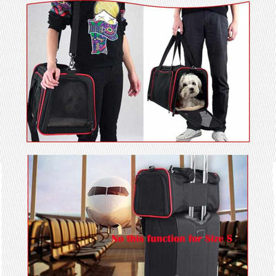 Fashion Breathable Pet Slings 1 Side Expandable Dog/Cat Carrier - Outdoor Pet Travel Bag-Pet carries and Crate-Golonzo