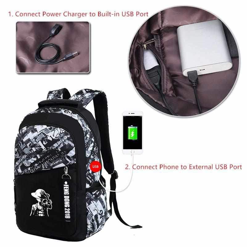 ea4fc0c46e Waterproof School Bags - Large Backpack For Teenagers - Golonzo