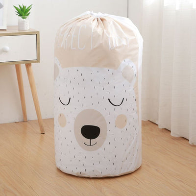 Foldable Storage Bag Clothes Blanket Quilt Closet Sweater Organizer Box Pouches Bear Housekeeping-Storage Holders & Racks-Golonzo