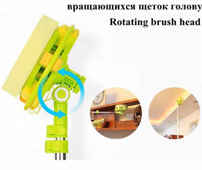 High-rise glass window cleaning mop-Mops-Golonzo