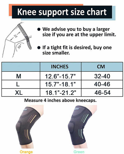 High Elasticity Knee Support Protector Pads-Supports & Braces-Golonzo