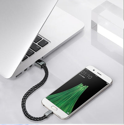 PREMIUM LEATHER CHARGING USB BRACELET - For iPhone/Android-mobile phone accessories-Golonzo
