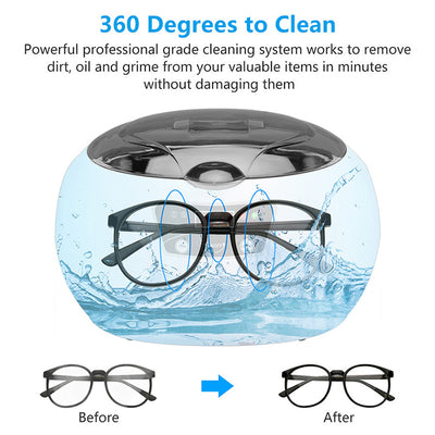 Ultrasonic Cleaner for Jewelry Parts Glasses-Ultrasonic Cleaners-Golonzo