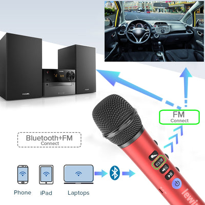 Wireless Karaoke Microphone-Karaoke System Accessories-Golonzo