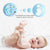 Non-Toxic Baby Hand/Foot Print Soft Clay Kit