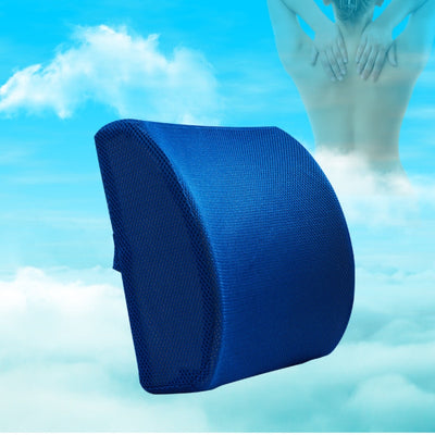 Soft Memory Foam Lumba&Back Support Seat for Relieve Pain - Ideal Back Pillow for Office Chair and Car Seat-Chair and Sofa Support-Golonzo