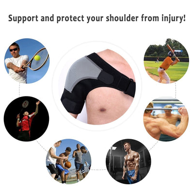 Miracle Shoulder Brace For Pain Relief-Supports & Braces-Golonzo