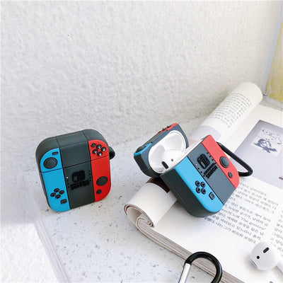 Nintendo Switch Style Silicone Protective Case For Airpods-Bluetooth Earphones & Headphones-Golonzo