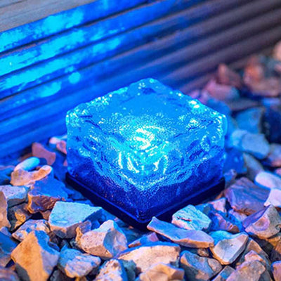 Solar Power LED Pathway Light Ground Crystal-Night Lights & Ambient Lighting-Golonzo