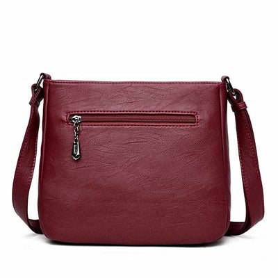 Sisjuly Women PU Leather Handbags-Handbags-Golonzo
