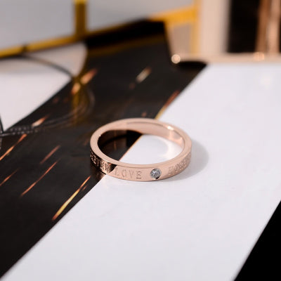 Love Forever Couple Rings-ring-Golonzo