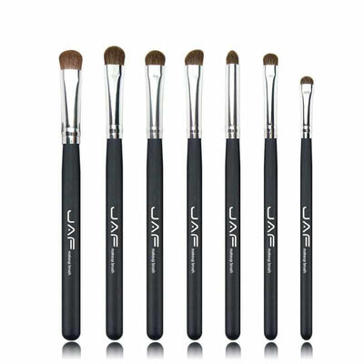 7pcs Eyeshadow Brushes for Makeup - Classic 100% Natural Horse Hair-Makeup Brushes-Golonzo