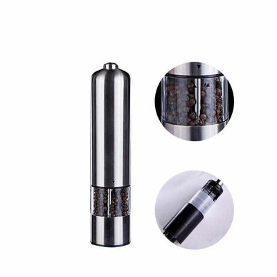 Electric Salt and Pepper Mill-Salt and Pepper Shaker-Golonzo