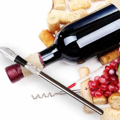 Wine Chiller Stick With Wine Pourer-Wine Fridge Accessories-Golonzo
