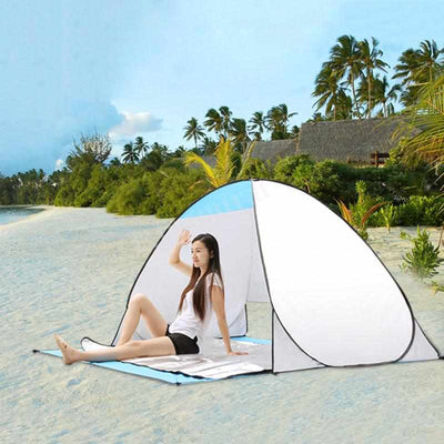 Quick Opening Beach Tent UV-protection-Tents-Golonzo