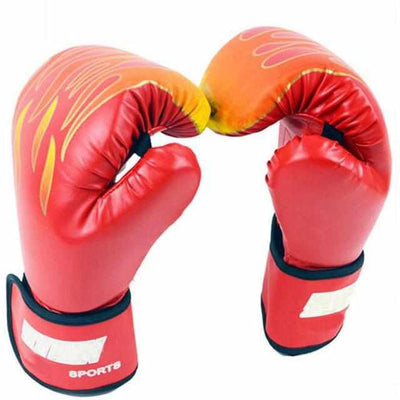 Kids Flame Boxing Gloves-Boxing Gloves and Mitts-Golonzo