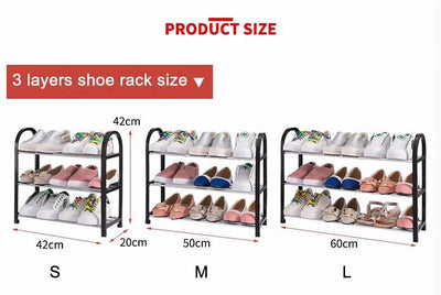 Shoes shelf - Easy Assembled-Shoe Racks and Organizer-Golonzo