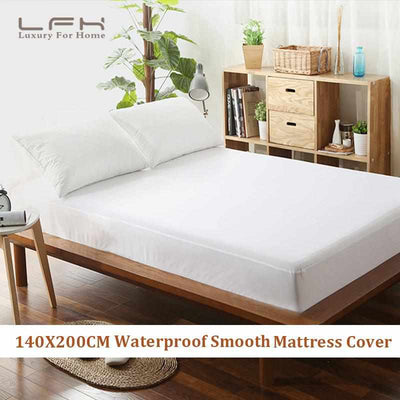 Waterproof Smooth Mattress Cover-Mattress Protector-Golonzo