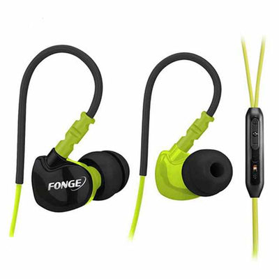 Sport Headphone with Memory wire sweatproof-Headphones and Headset-Golonzo