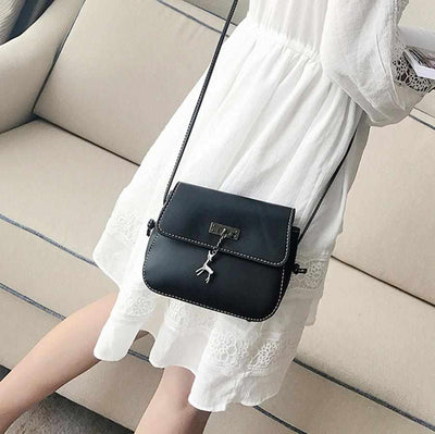 High Quality Women Messenger Cross Body Bag PU Leather-Handbags-Golonzo