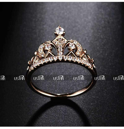 Princess Crown Rings-ring-Golonzo