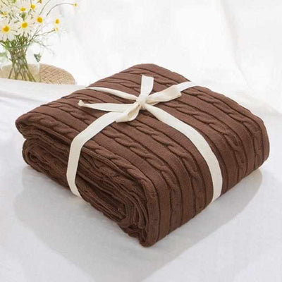 Soft Cotton Blankets for Beds-Blankets-Golonzo