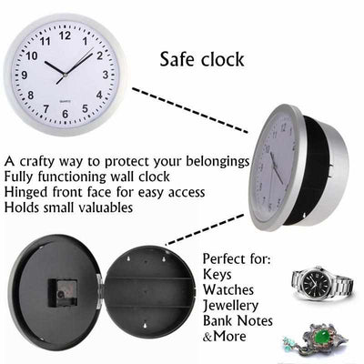 Hidden Clock Storage-Wall Clocks-Golonzo