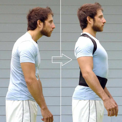 Adjustable Posture Corrector Back Support Belt-Supports & Braces-Golonzo