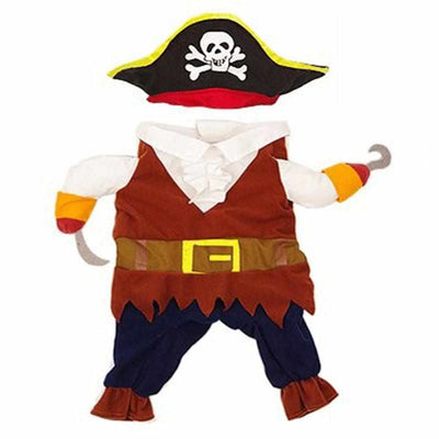 Funny Cat/Dog Pirate Clothes-Dog Apparel-Golonzo