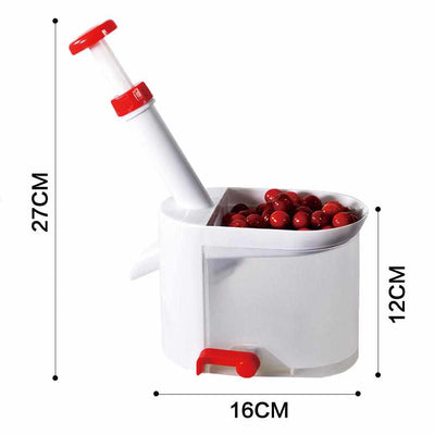 Easy Cherry Seed Remover-Food Peelers and Corers-Golonzo