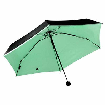 Vinyl UV Sunscreen Mini Pocket Folding Umbrella-parasol and rain umbrella-Golonzo