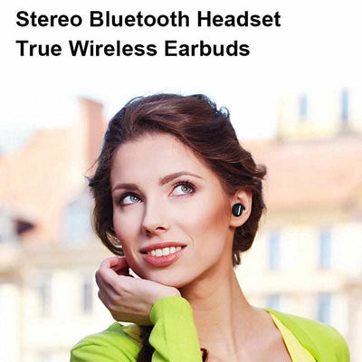 Invisible Mini Earphone 3D Stereo-Headphones and Headset-Golonzo